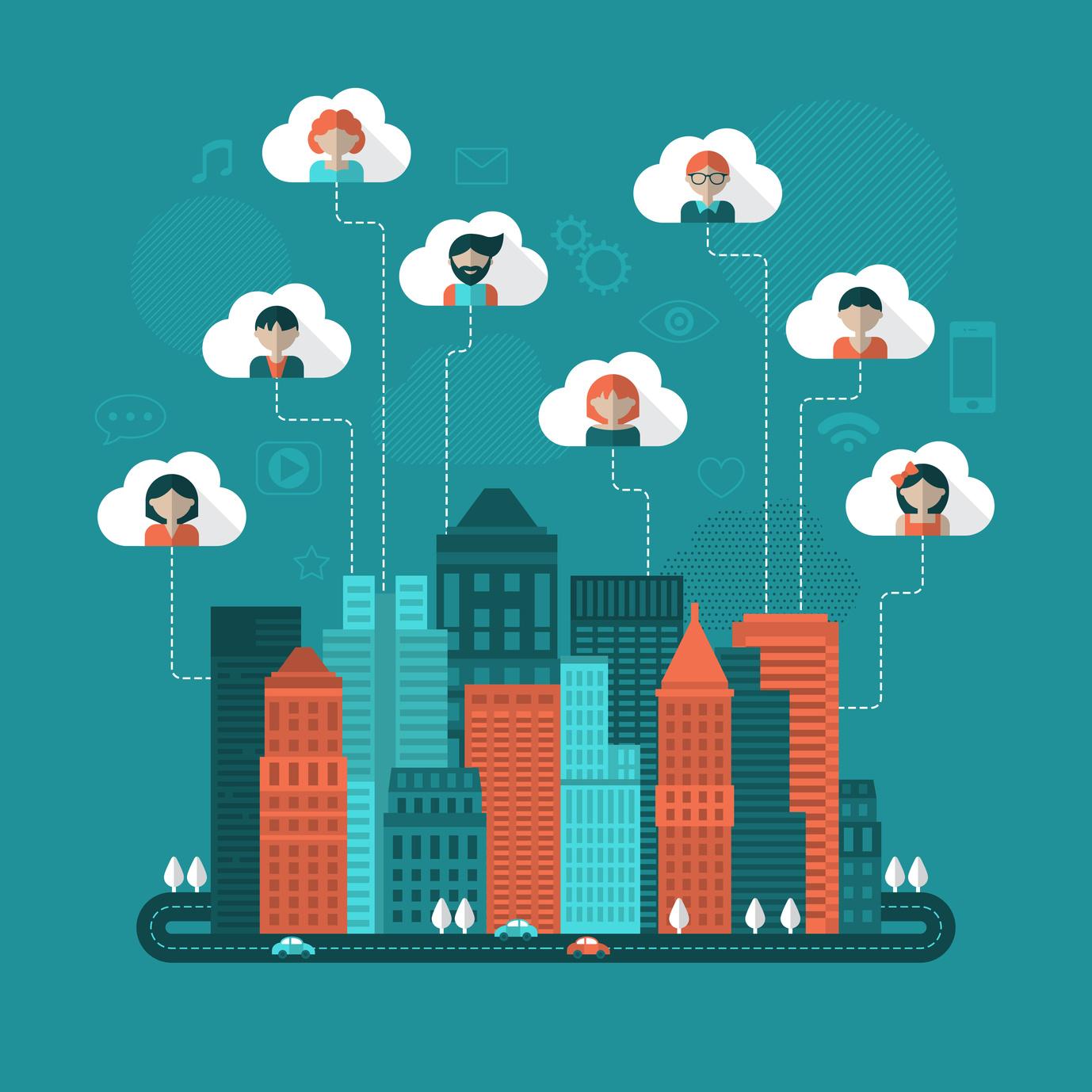 network, social media