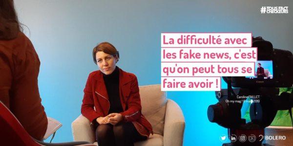 oh my mag - Caroline Faillet - Fake News