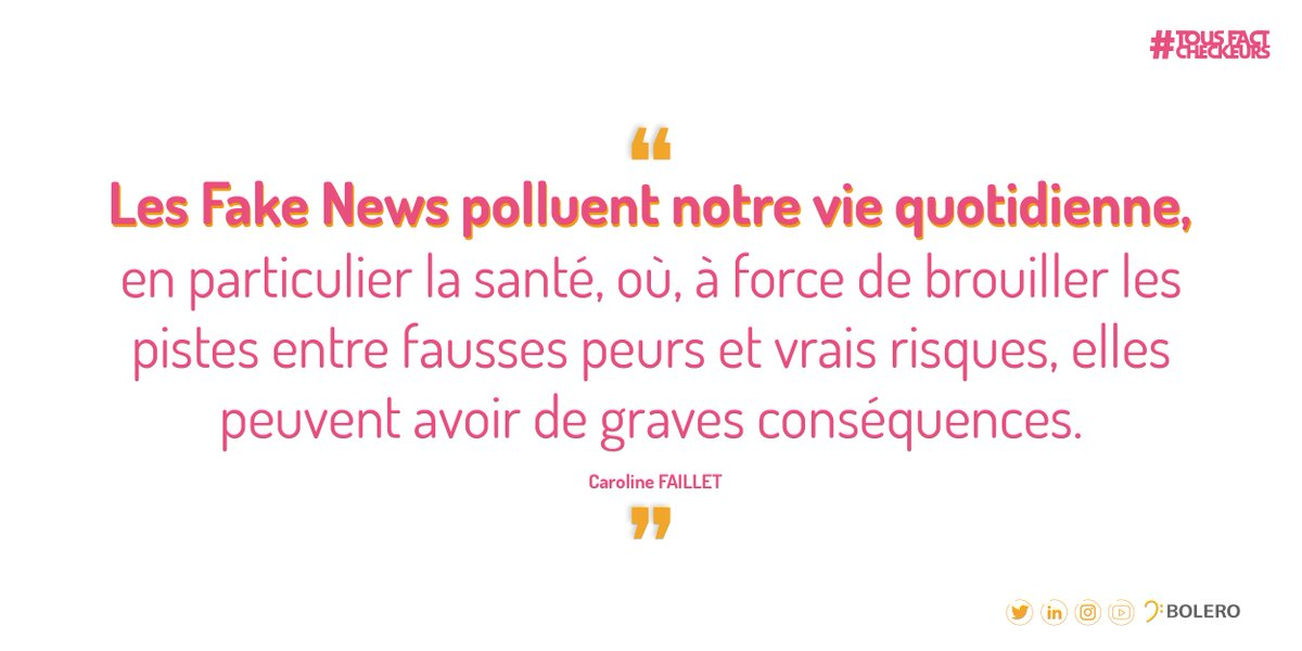 Fake News santé - 20 minutes - Caroline Faillet