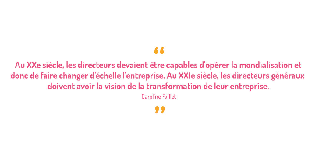 CAROLINE FAILLET DIRIGEANTE DU CABINET OPINION ACT